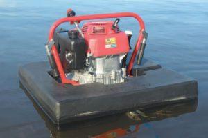 pompa apung floating pump