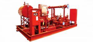 Jual Fire Pump SFFECO Elektrik Standar UL dan FM