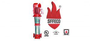 Jual Fire Pump SFFECO Jockey Pump Original Standar NFPA dan UL FM